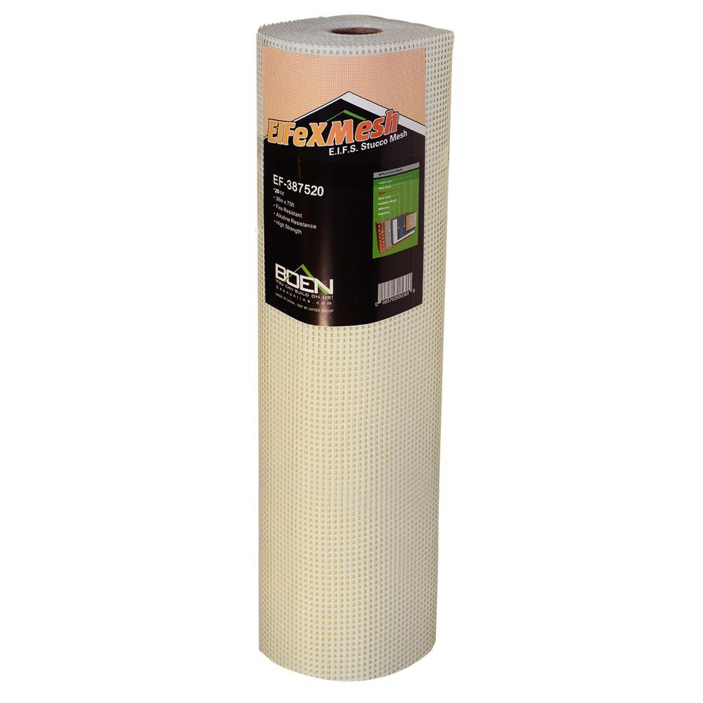 FiFlexMesh 20 oz. 38 in. x 75 ft. Heavy-Duty EIFS Stucco Mesh