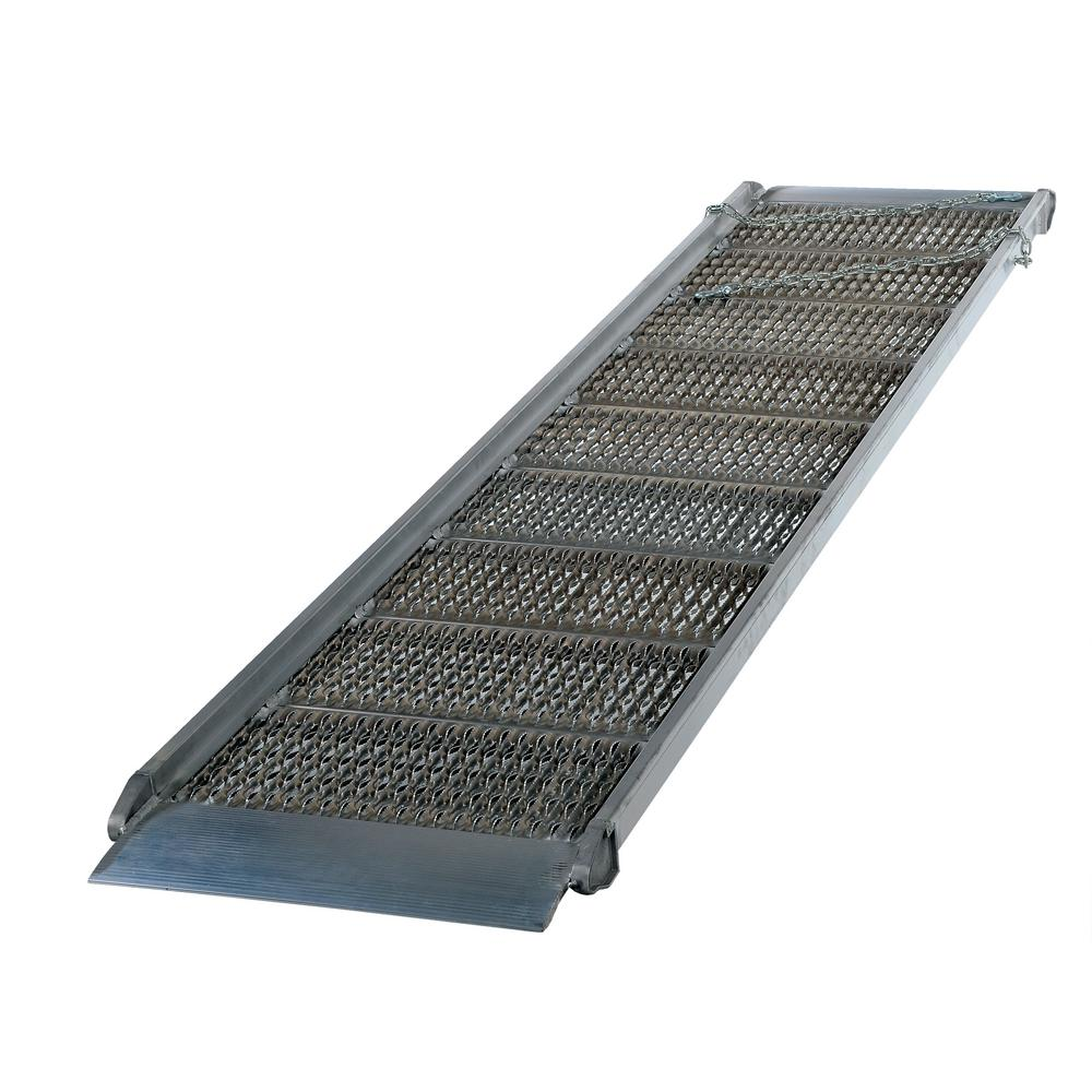 168 in. x 28 in. Aluminum Grip-Strut Walk Ramp