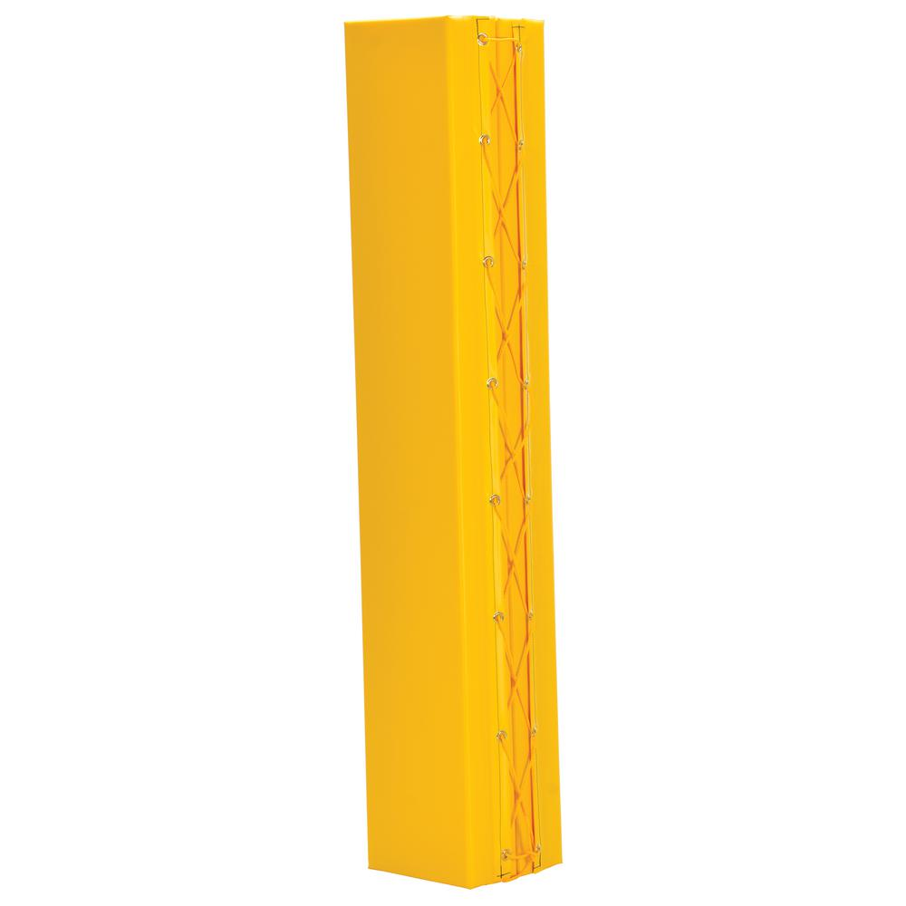 12 in. x 12 in. x 72 in. Structural Column Pad in Yellow
