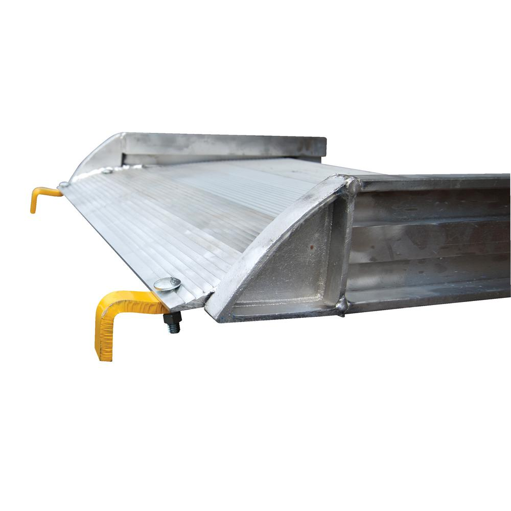 108 in. x 38 in. Aluminum Walk Ramp Hook Style