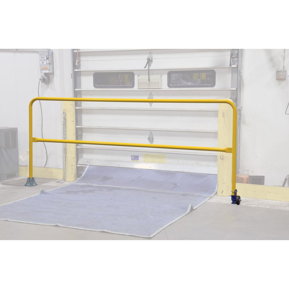 108 in. Wide Dock Safety Swing Gate