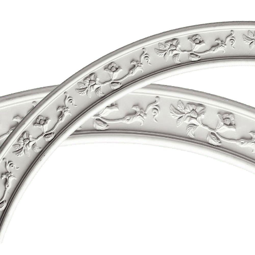 51-1/4 in. Floral Classic Ceiling Ring