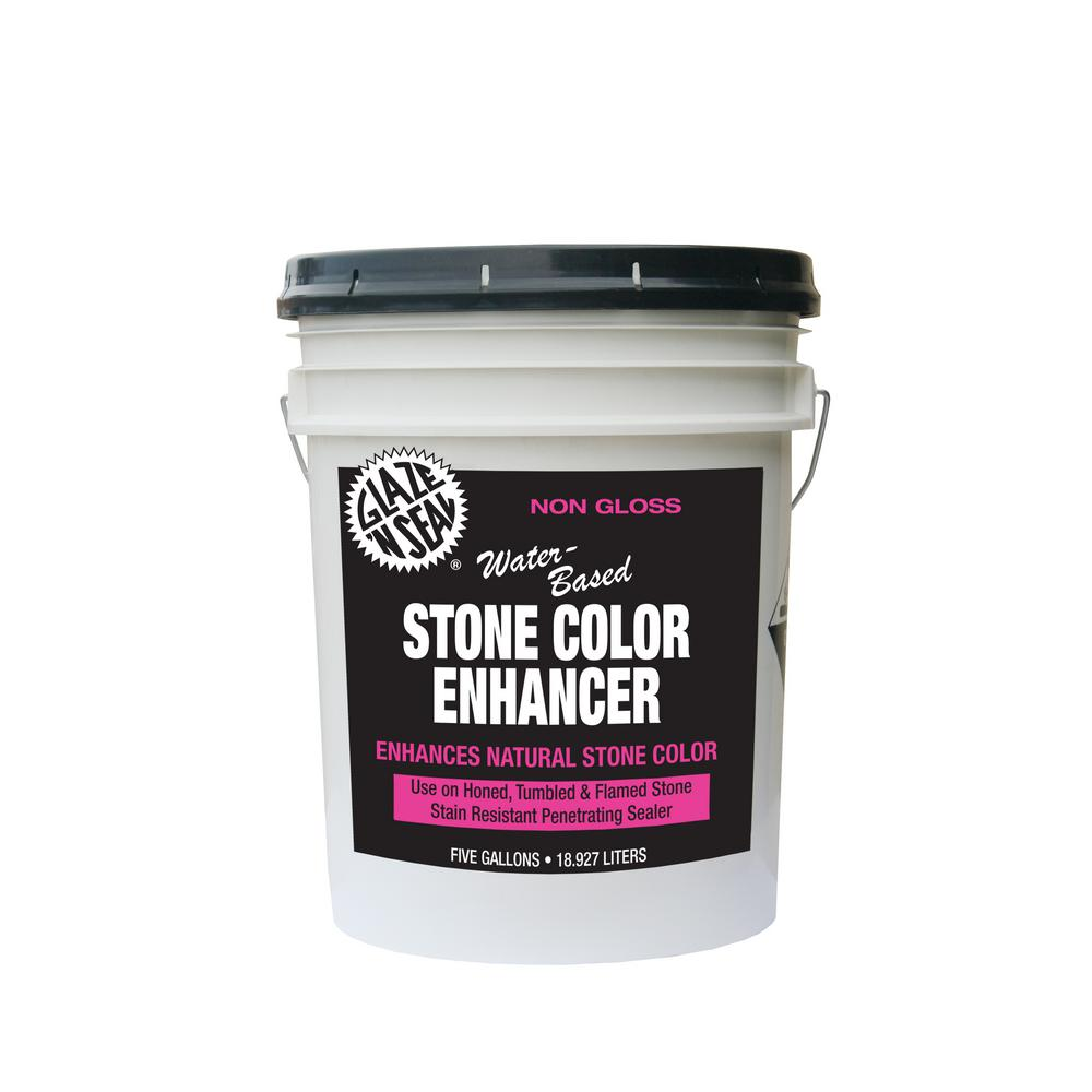 5 gal. Stone Color Enhancer Waterproofing Sealer