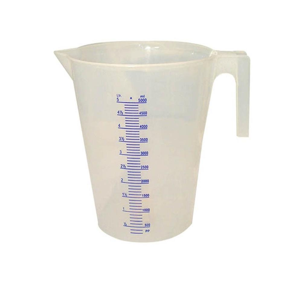 5 Liter Plastic Measuring Pitcher