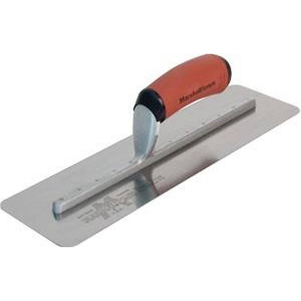 16 in. x 4 in. Silo Finishing Trowel with Curved DuraSoft Handle