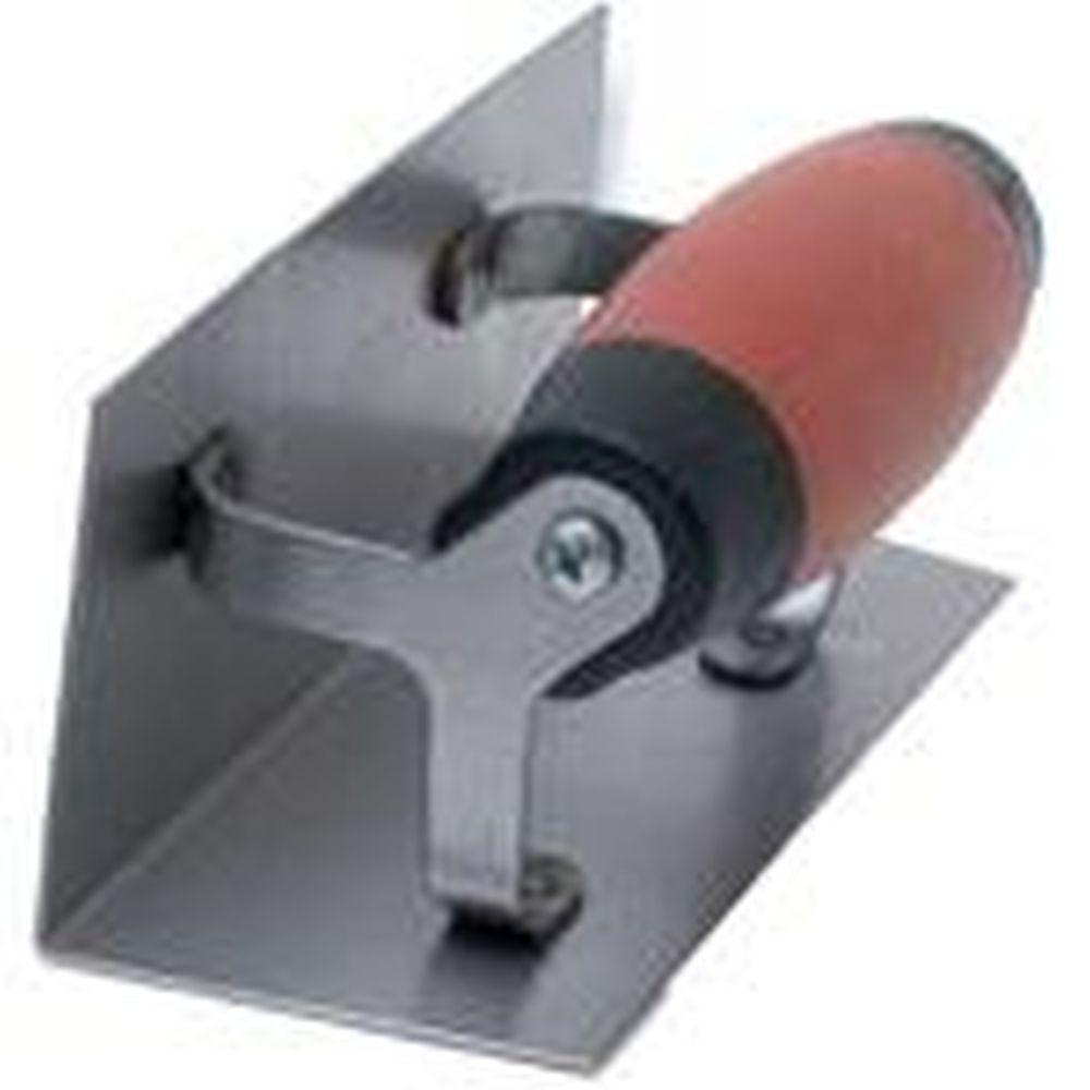 6 in. x 2-1/2 in. IS Corner Finishing Trowel with Square Radius DS Handle