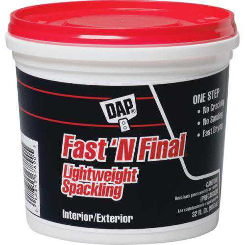 1 Quart DAP Fast 'N Final Lightweight Spackling